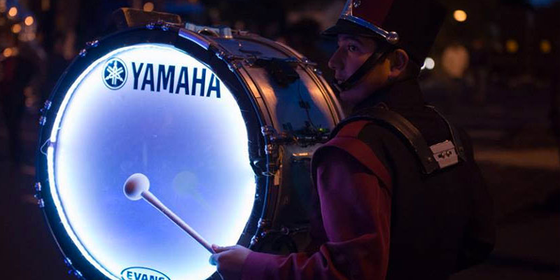 Logan Poe's LightEmUp Band percussion product