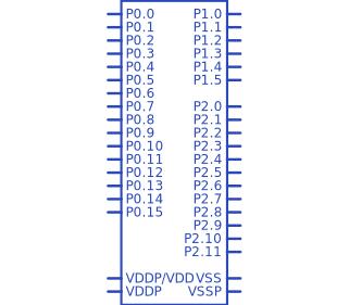 Explore Parts Library - XMC1301-T038F0032 AA - Upverter