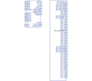 Nordic nRF52840-QIAA | Upverter
