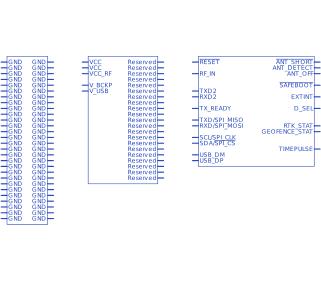 ublox ZED-F9P-00B-02 | Upverter