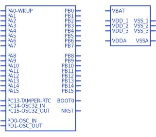 STMicroelectronics STM32F103C8T6   Upverter